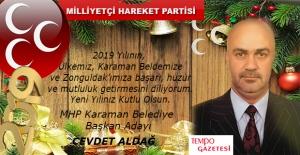 Cevdet Aldağ'ın Yeni Yıl Mesajı