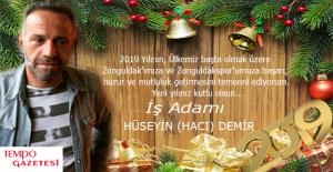 Hacı Demir, 2019'u kutladı...