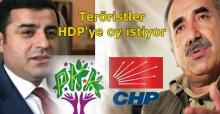Flaş… CHP, teröristlerle kırıştırıyor… 4 oydan 1'ini HDP'ye istiyorlar... Yazıklar olsun size…