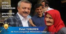 Senin yüreğin Zonguldak...