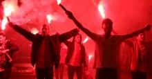 Galatasaray'ın şampiyonluğunu böyle kutladılar