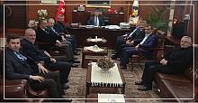AK Parti teşkilatından Vali Bektaş'a taziye ziyareti