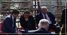İdlib şehidinin babası acı haberi fidan dikerken aldı