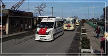 Şoför esnafından Mehmetçiğe konvoylu destek
