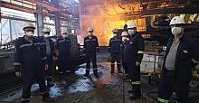 Başkan Ercan fabrika çalışanlarını bilgilendirdi