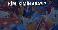 İşte Ankara'ya gidecek isimler…