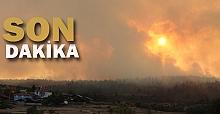 Dörtdivan'da yangın: Zonguldak destek verdi