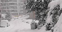 Her yerde kar var, belediye YOK!