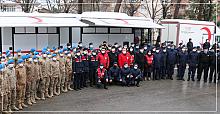 Jandarma'dan kan bağışına destek