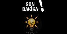 AK Parti'den istifa etti…